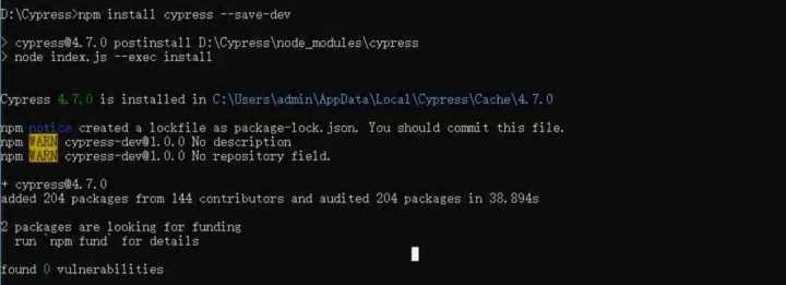 前端自动化测试框架Cypress搭建详解9